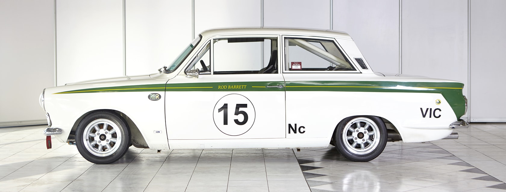 Lotus Mk 1 Cortina 1965 classic rally car for sale