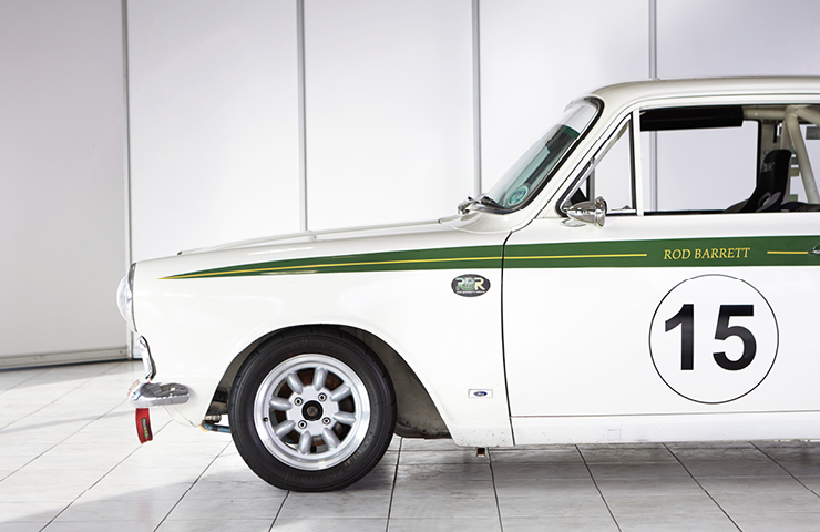 Lotus Mk 1 Cortina 1965 number 15 classic rally car for sale