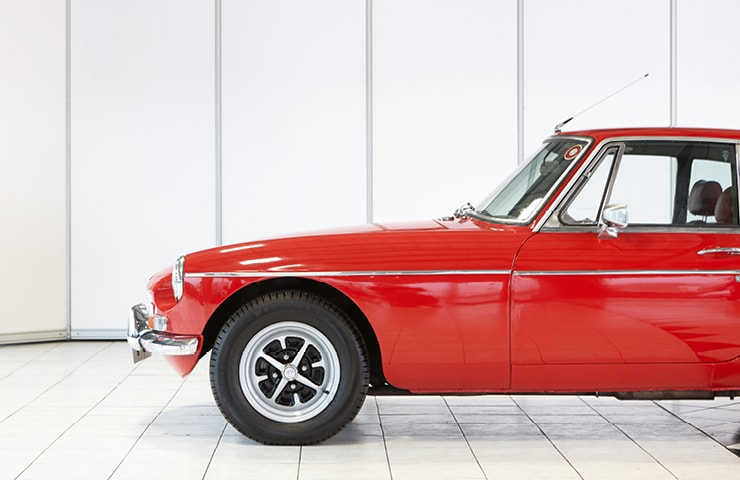 red MGB GT Coupe 1972 for sale classic classics