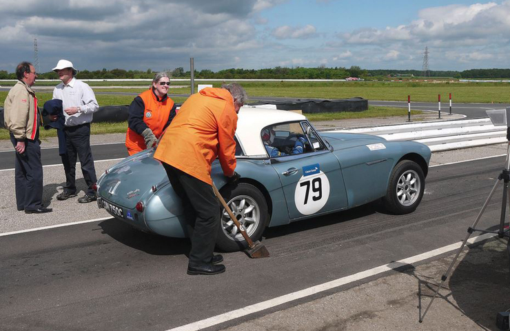 Blyton Lincolnshire classic car track day